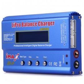 image of IMAX B6 LCD SCREEN DIGITAL RC LIPO NIMH BATTERY BALANCE CHARGER (BLUE) -