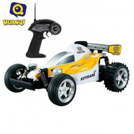 image of HUANQI 545 4CH 2WD HIGH SPEED 11.5KM/H REMOTE CONTROL CROSSING CAR RTR VEHICLE TOY (YELLOW) -