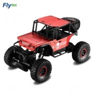 image of FLYTEC 1:18 2.4G ALLOY OFF-ROAD DRIFTING CLIMBING RC CAR (RED) EU PLUG