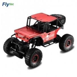 image of FLYTEC 1:18 2.4G ALLOY OFF-ROAD DRIFTING CLIMBING RC CAR (RED) EU PLUG