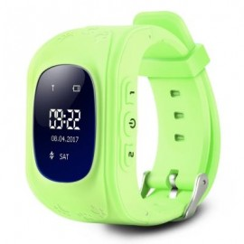 image of Q50 CHILDREN OLED DISPLAY GPS INTELLIGENT WATCH TELEPHONE (GREEN) ENGLISH VERSION