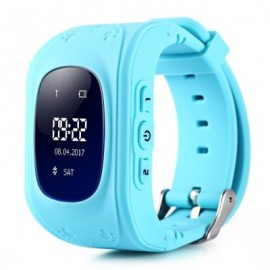 image of Q50 CHILDREN OLED DISPLAY GPS INTELLIGENT WATCH TELEPHONE (BLUE) ENGLISH VERSION