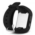 Q50 CHILDREN OLED DISPLAY GPS INTELLIGENT WATCH TELEPHONE (BLACK) ENGLISH VERSION