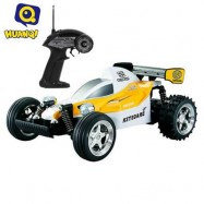 image of 545 4CH 2WD HIGH SPEED 11.5KM/H REMOTE CONTROL CROSSING CAR RTR VEHICLE TOY (YELLOW) 32.50 x 18.50 x 14.50 cm