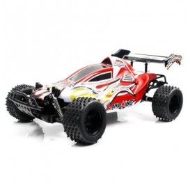 image of FEILUN LK813 1:10 2WD BRUSHED OFF-ROAD RC CAR RTR 20KM/H MAXIMUM SPEED / INDEPENDENT SUSPENSION SYSTEM / ALL-TERRAIN TIRE (RED) 0