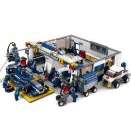 image of SLUBAN BUILDING AND CONSTRUCTION BLOCKS M38-B0356 F1 MAINTENANCE STATION CONSTRUCTION SET ( 741 PIE ) (COLORMIX) 0