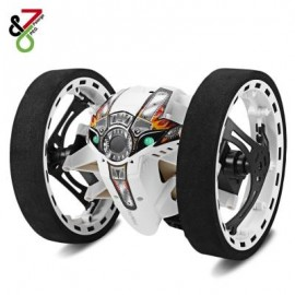 image of PAIERGE PEG - 81 2.4GHZ WIRELESS BOUNCE CAR FOR KIDS (WHITE) 0