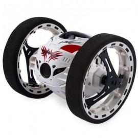 image of GBLIFE PEG - 88 2.4GHZ REMOTE CONTROL BOUNCE CAR (WHITE) 0