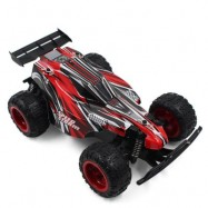 image of 9600 1:22 2WD RC OFF-ROAD CAR RTR 20KM/H 2.4GHZ 4CH WITH BRAKE LOW VOLTAGE PROTECTION (RED) 21.00 x 13.00 x 7.50 cm