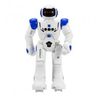 image of GESTURE SENSOR INTELLIGENT CONTROL PROGRAMMING DANCING WALKING SING RC ROBOT TOY (BLUE) 0