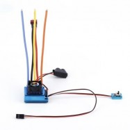 image of TSKY 120A SENSORED BRUSHLESS ESC ELECTRONIC SPEED CONTROLLER FOR RC CAR MODEL (BLUE) -