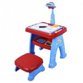 image of 22088 - 11 PROJECTOR TOYS KIDS DRAWING BOARD WITH TOOLS (COLORMIX) 0
