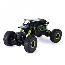 image of HB P1803 2.4GHZ 1:18 SCALE RC ROCK CRAWLER 4WD OFF-ROAD RACE TRUCK TOY (GREEN) USB CABLE