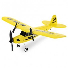 image of FLYBEAR FX - 803 2.4G 2CH EPP PROFESSIONAL GLIDER FRONT-PULL DOUBLE PROPELLER READY-TO-FLY (YELLOW) -