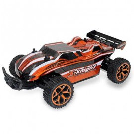 image of GS05B 1 / 18 FULL SCALE 4WD 2.4G 4 CHANNEL HIGH SPEED CROSSING CAR RTR (ORANGE RED) 29.30 x 18.00 x 9.50 cm