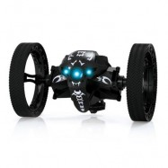 image of RUNHUZHINENG RH803 2.4GHZ RC JUMPING CAR RTR UP TO 80CM HIGH / IMPACT-RESISTANT / SPEED SWITCH (BLACK) -
