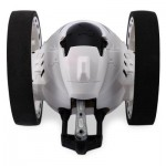 PEG SJ88 2.4G REMOTE CONTROL JUMPING CAR 2 SECOND ROTATION BOUNCE RC TOY (WHITE) -
