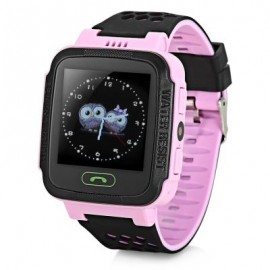 image of Y21 KIDS LCD DISPLAY GPS SMART WATCH TELEPHONE (PINK) RUSSIAN VERSION