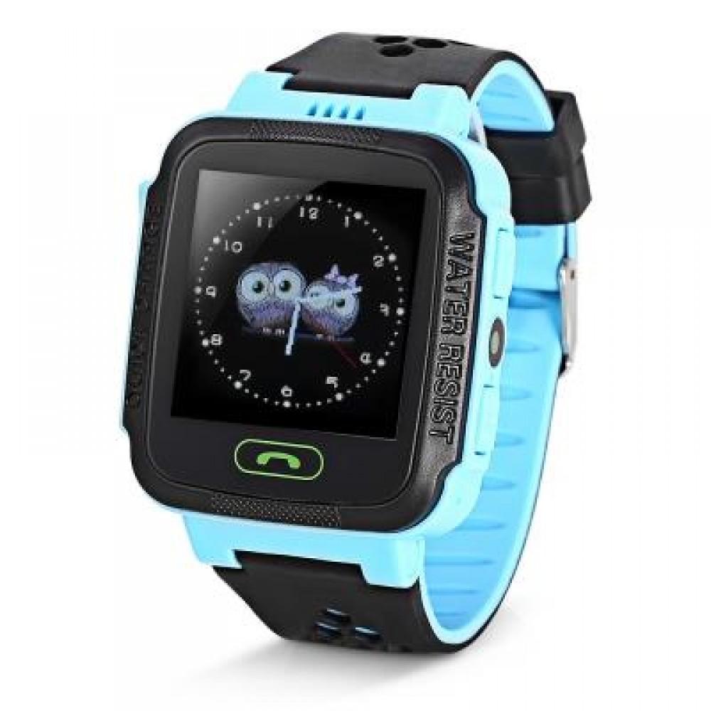 Y21 KIDS LCD DISPLAY GPS SMART WATCH TELEPHONE (BLUE) RUSSIAN VERSION