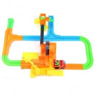 image of ELECTRIC CHILDREN DIY RAIL CAR RACING TRACK BUILDING BLOCK TOY (COLORMIX) -