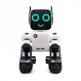 image of JJRC R4 MULTIFUNCTIONAL VOICE-ACTIVATED INTELLIGENT RC ROBOT (WHITE) 0