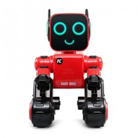 image of JJRC R4 MULTIFUNCTIONAL VOICE-ACTIVATED INTELLIGENT RC ROBOT (RED) 0