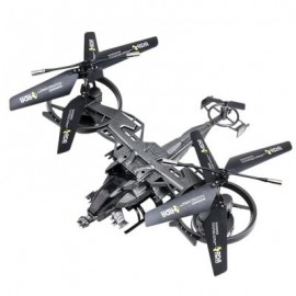 image of ATTOP AVATAR 718 RADIO CONTROLLED HELICOPTE (GRAY) 0
