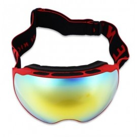 image of BENICE UV PROTECTION DOUBLE ANTI-FOG LENS BIG SPHERICAL SKIING GLASSES SNOW GOGGLES (COLORMIX) SNOW - 4204