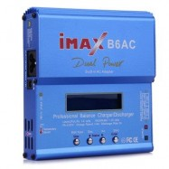 image of IMAX B6AC LCD SCREEN DIGITAL RC LIPO NIMH BATTERY BALANCE CHARGER DISCHARGER (BLUE) -