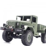 HENG LONG 3853A 1:16 MINI OFF-ROAD RC MILITARY TRUCK RTF WITH FOUR-WHEEL DRIVE (ARMY GREEN) 0