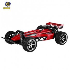 image of HUANQI 535 - 10 1:12 SCALE RADIO CONTROL RC HIGH-SPEED RACING CAR VEHICLE TOY (RED) -