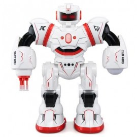 image of JJRC R3 CADY WILL 2.4G RC ROBOT RTR TOUCH + GESTURE SENSOR / COMBAT GAMEPLAY / PROGRAMMING (RED) 0