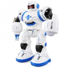 image of JJRC R3 CADY WILL 2.4G RC ROBOT RTR TOUCH + GESTURE SENSOR / COMBAT GAMEPLAY / PROGRAMMING (BLUE) 0