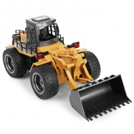 image of HUINA 1520 1:14 2.4GHZ 6CH RC ALLOY TRUCK CONSTRUCTION VEHICLE (MULTI) -