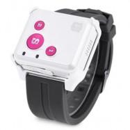 image of  RF-V16 REAL-TIME GSM GPRS GPS TRACKER SOS COMMUNICATOR EMERGENCY LOCATOR FOR KIDS ELDERLY (PINK) -