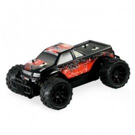 image of HUANQI 543 1:16 SCALE 2.4G 2CH 2WD RC RACING CAR VEHICLE (RED) -