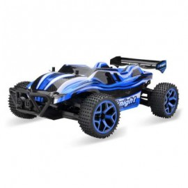 image of GS05B 1 / 18 FULL SCALE 4WD 2.4G 4 CHANNEL HIGH SPEED CROSSING CAR RTR (BLUE) 29.30 x 18.00 x 9.50 cm