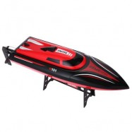 image of H101 2.4G 4CH REMOTE CONTROL RACING YACHT BOAT TOY SIMULATION MODEL RTR VERSION 43.70 x 12.20 x 11.70 cm