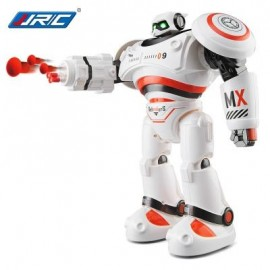 image of JJRC R1 DEFENDERS INFRARED CONTROL ROBOT RTR PROGRAMMABLE MOVEMENT / MISSILE SHOOTING / SLIDING WALKING DANCING MODE (ORANGE) -