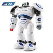 image of JJRC R1 DEFENDERS INFRARED CONTROL ROBOT RTR PROGRAMMABLE MOVEMENT / MISSILE SHOOTING / SLIDING WALKING DANCING MODE (BLUE) -
