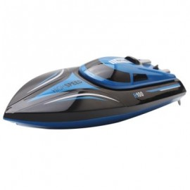 image of SKYTECH H100 2.4GHZ 4 CHANNEL HIGH SPEED BOAT WITH LCD SCREEN (BLUE AND BLACK) -