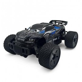 image of 1:16 SCALE 2.4G 2CH 2WD RC RACING CAR VEHICLE (BLUE) 28.00 x 20.80 x 12.10 cm