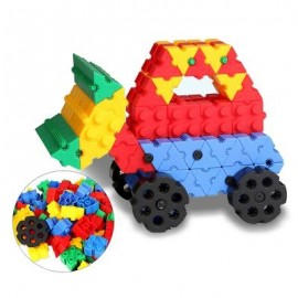 image of KIDS 475PCS 3D BRICKS BUILDING BLOCKS CREATIVE EDUCATIONAL TOY (COLORMIX) -