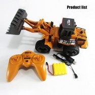image of 1520 1:14 2.4GHZ 6CH RC ALLOY TRUCK CONSTRUCTION VEHICLE 35.00 x 15.00 x 15.00 cm