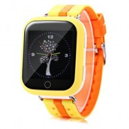 image of Q750 KIDS SAFETY MONITORING GPS INTELLIGENT SMART WATCH (YELLOW) RUSSIAN VERSION