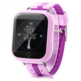 image of Q750 KIDS SAFETY MONITORING GPS INTELLIGENT SMART WATCH (PURPLE) RUSSIAN VERSION