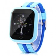 image of Q750 KIDS SAFETY MONITORING GPS INTELLIGENT SMART WATCH (BLUE) RUSSIAN VERSION
