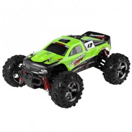 image of BG1510B 1 : 24 2.4GHZ FULL SCALE HIGH SPEED 4WD OFF ROAD RACER (GREEN) 19.10 x 14.60 x 8.50 cm