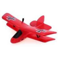 image of FLYBEAR FX - 808 2.4GHZ 2 CHANNEL EPP FIXED-WING AIRCRAFT PUSH-BACK PROPELLER RTF (RED) -