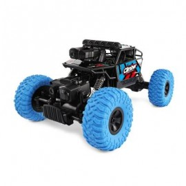 image of JJRC Q45 1/18 2.4GHZ 4WD RC OFF-ROAD CAR WIFI FPV 480P CAMERA / APP CONTROL / INDEPENDENT SUSPENSION SYSTEM (BLUE) 0